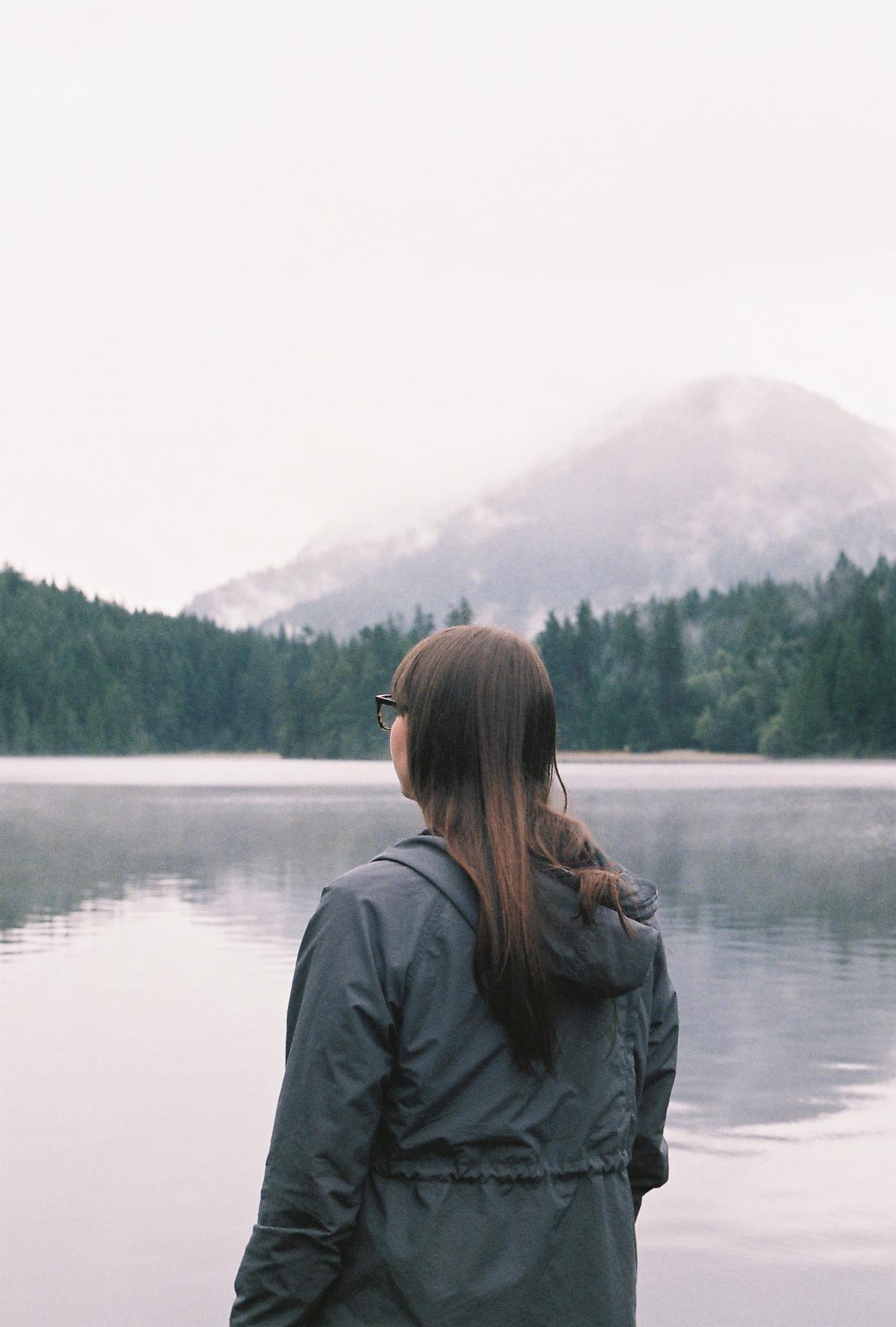 adriana at lake buntzen